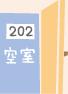 B202空室